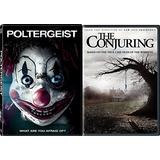 Nightmare Horror Movie Set DVD Conjuring & Poltergeist Double Feature 2-Pack Set ghosts and paranormal