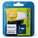 Philips Norelco OneBlade Replacement Blade (3-Pack), Multicolor