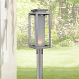 "Vailridge 19 3/4""H Stainless Steel LED Outdoor Post Light"