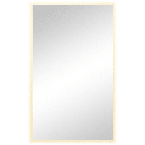 """Ren Wil MT2177 Lumiere 40"""" X 24"""" Rectangular Frosted Glass Framed LED Universal Mount Plug-In Wall"""
