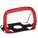 Costway 2-in-1 Portable Pop up Kids Soccer Goal Net with Carry Bag