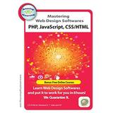 3 Web Design training Courses - PHP, CSS/HTML & Javascript Training CDs Value Pack