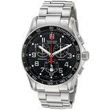 Victorinox Swiss Army Men's 241301 Classic Collection Digital Chronograph Watch