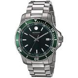 Movado Series 800, Stainless Steel Case, Green Dial, Stainless Steel Bracelet, Women, 2600136