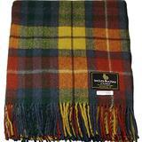 "I LUV LTD Scottish Tartan Warm Wool Mix Throw Blanket Buchanan Antique Plaid Couch Blanket Bed Throw Blankets Wool Rug Outdoor Blankets and Throws 60"" x 72"""
