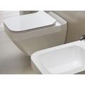 Neuesbad Serie 300 Wand-Tiefspül-WC spülrandlos (rimless), weiss mit Beschichtung, B:350, T:520mm 1K114-0161