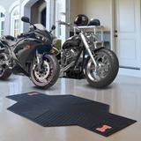 FANMATS NCAA Motorcycle 42 ft. x 0.25 ft. Garage Flooring Roll in in Black   Wayfair 15245