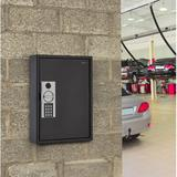 AdirOffice Key Cabinet w/ Digital Lock in Black, Size 17.0 H x 13.0 W x 2.6 D in | Wayfair ADI680-60-BLK