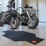 FANMATS NCAA Motorcycle 42 ft. x 0.25 ft. Garage Flooring Roll in in Black   Wayfair 15236