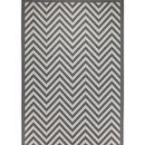 Ebern Designs Brylee Indoor/Outdoor Area Rug Polypropylene in Gray, Size 24.0 W x 0.2 D in | Wayfair 5C84D1FBC78D46D2A05AFDF0D7724DE7