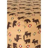 Trend Lab Multi Northwoods Flannel Fitted Crib Sheet