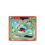 Melissa & Doug Multi Round Town Road Rug-Online Only