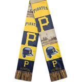 """""""Men's Black Pittsburgh Pirates Bar Scarf"""""""