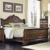 Liberty Furniture Highland Court Bedroom Queen Sleigh Bed, Rich Cognac Finish