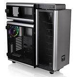 Thermaltake Level 20 E-ATX Full Tower Gaming Computer PC Case with 3 Riing Plus 140mm RGB Fan + 2 Lumi Plus LED Strips Pre-Installed CA-1J9-00F9WN-00