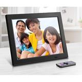 Red Barrel Studio® Dvorak Digital Picture Frame Plastic in Black, Size 9.25 H x 11.5 W x 3.2 D in   Wayfair 937CFB61B5B5475B83E3B0B5F3A4CF53