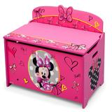 Disney's Minnie Mouse Deluxe Toy Box by Delta Children, Multicolor