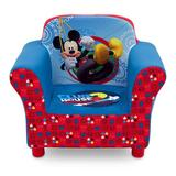 Disney's Mickey Mouse Upholstered Arm Chair by Delta Children, Multicolor