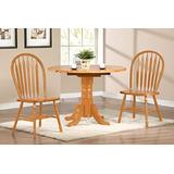 Sunset Trading Oak Selections Dining Table Set, Small, One Size, Light Finish