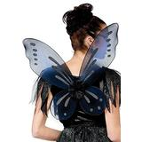 Fun World Women's Fairy Adult Wings Costume Accessory, black, Standard