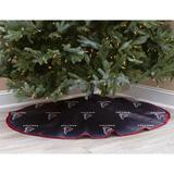 Black Atlanta Falcons Micro Plush Christmas Tree Skirt