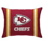 "Red Kansas City Chiefs 20"" x 26"" Plush Bed Pillow"