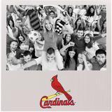 """""""St. Louis Cardinals 4"""""""" x 6"""""""" Aluminum Picture Frame"""""""