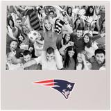 "New England Patriots 4"" x 6"" Aluminum Picture Frame"