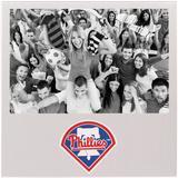 """Philadelphia Phillies 4"""" x 6"""" Aluminum Picture Frame"""