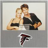 "Atlanta Falcons 4"" x 6"" Aluminum Picture Frame"