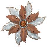 "Regal Art & Gift 12060 - Galvanized Flower Wall Decor 29"" Botanical Wall Decor"