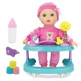New Adventures Baby Magic 11-in. Baby Doll & Playcenter Set, Pink