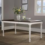 Crosley Furniture Shelby Dining Table & Leaf 2-piece Set, White