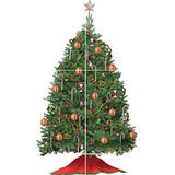 RoomMates RMK1203GM Build A Peel & Stick Wall Decal, Christmas Tree