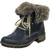 Josef Seibel Women's Sandra 04 High Boots, Blue (Denim/Kombi 596), 36