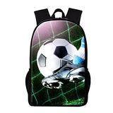 Dispalang Fashionable Soccer Bakcpack Children Outdoor Back Pack Cool School Bag