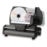 """Continental Electric Deli Meat Slicer 7.5"""" Blade Stainless Steel, Size 11.95 H x 16.45 W in 