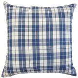 August Grove® Joan Plaid Bedding Sham 100% Cotton in Blue, Size 36.0 H x 20.0 W x 5.0 D in   Wayfair AGGR7233 40282596