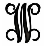 August Grove® Herz Sculpture Home Accent Letter Block Metal in Black, Size 6.0 H x 5.5 W x 1.0 D in   Wayfair B0CF70F0FB004ECDA8D7AF98BB5176D0