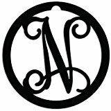 August Grove® Herz Home Accent Letter Block Metal in Black, Size 4.0 H x 4.0 W x 1.0 D in   Wayfair B55BBB3128244F0FBED0EA2C329EF55D