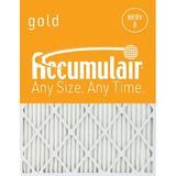 Accumulair Merv 8 Custom Air Filter in Gray, Size 8.5 H x 20.0 W x 1.0 D in | Wayfair
