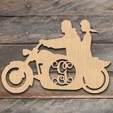 aMonogram Art Unlimited Wooden Decorative Sign, Door Hanger & Wall Decor Wood in Brown, Size 15.0 H x 15.0 W x 0.25 D in | Wayfair 93152A-15