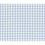 Brandee Danielle Prince Blue Fitted Crib Sheet Cotton in Blue/White, Size 6.0 H x 30.0 W x 6.0 D in   Wayfair 96SHBLU