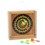 Hey! Play! 14-Piece Tabletop Bean Bag Toss & Magnetic Dart Game Set, Size 8.75 H in   Wayfair 12-HY2782