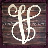aMonogram Art Unlimited Dollar Sign Monogram Letter Mounted on Rustic Wood Board Wall Decor Wood in Brown, Size 12.0 H x 12.0 W in | Wayfair