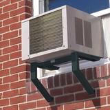 Black + Decker Window Air Conditioner Support Bracket black, Size 11.5 H x 38.0 W x 22.25 D in   Wayfair BAB-2438