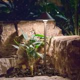 Aquascape Area Low Voltage LED Pathway Light Metal in Brown, Size 18.0 H x 6.5 W x 6.5 D in | Wayfair 84063