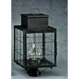 Breakwater Bay Wildes 1-Light Lantern Head Metal in Black, Size 18.0 H x 9.0 W x 9.0 D in | Wayfair FC998479F3E544889CED106BF5957A37