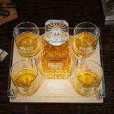 Canora Grey Bayne 6 Piece Whiskey Decanter Set Glass, Size 2.75 H x 12.0 W in | Wayfair D4F39A361955426CB670CD765B5A4B83