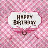 """Creative Converting Heart My Horse Birthday 6.5""""s Paper Disposable Napkins Paper in Pink 